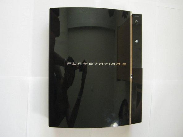 There she is, one of the two original PS3 models available at launch (60GB).