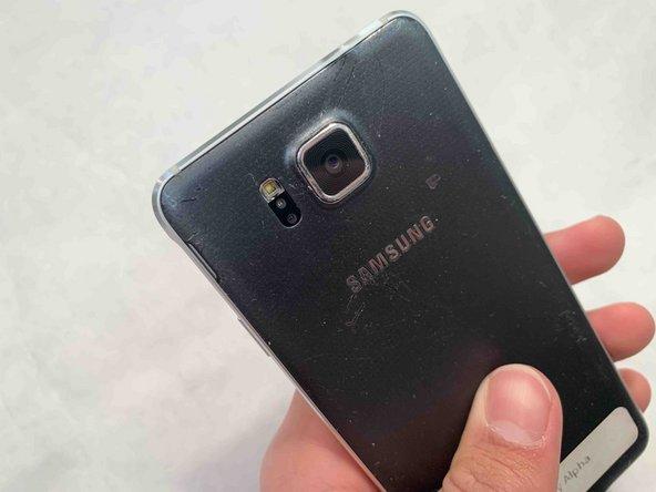 Samsung Galaxy Alpha Rear Camera Replacement