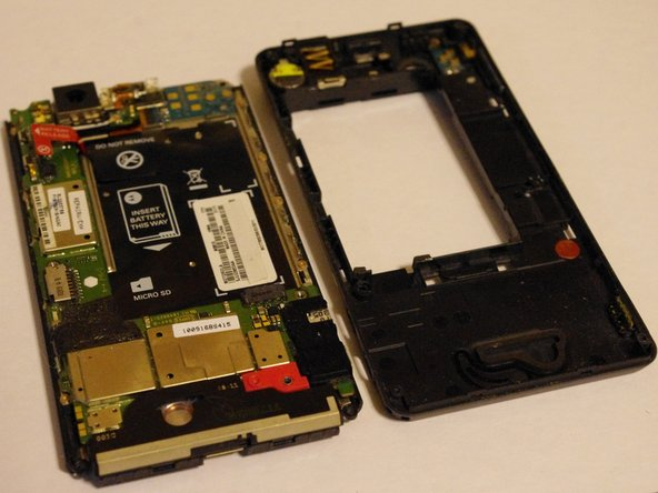 Congratulations! You have now successfully removed your back housing from your Droid X!