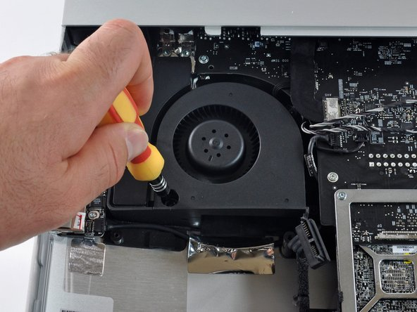 Apple made good use of the extra available space to include large, quiet fans with lots of low speed blades.