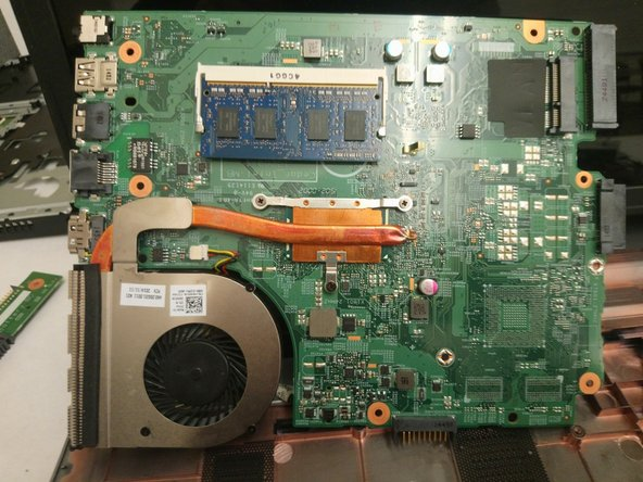 Dell Inspiron 17-5749 System Board Replacement