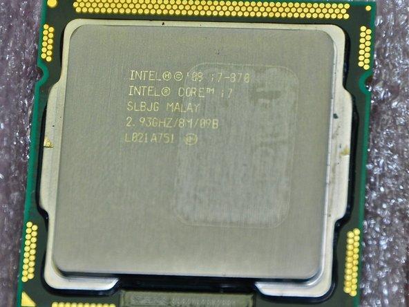 Processeur Intel Core i7 quad-core-2.93GHz, pâte thermique Arctic Silver et outils iFixit + OWC