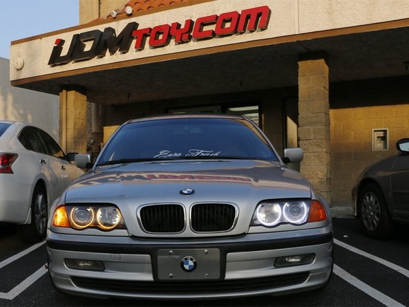 How To Install BMW E46 3 Series Switchback LED Halo Rings