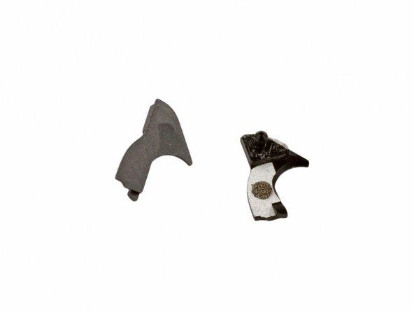 Upper display hinge bracket - quantity 2