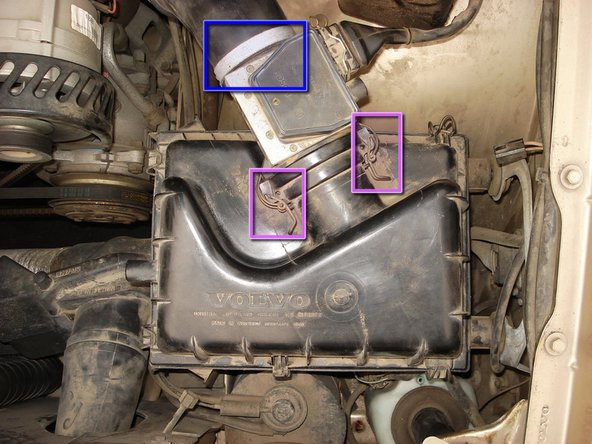 1985-1988 Volvo 740 Mass Air Flow (MAF) Sensor Maintenance