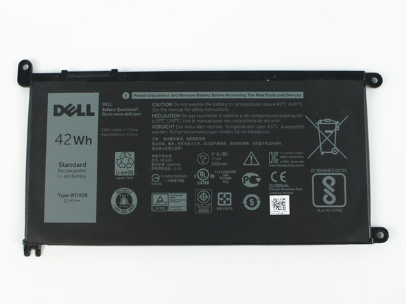 Dell   Inspiron  15-7569 Battery Replacement