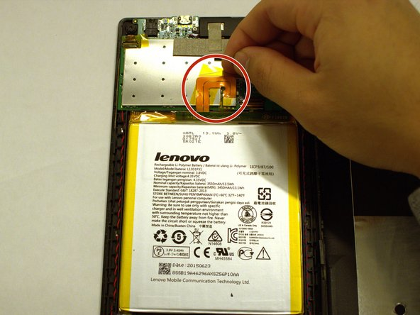 Lenovo Tab 2 A7-20F Battery Replacement