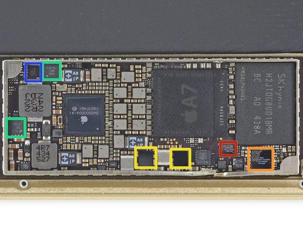 NXP Semiconductors LPC18A1 (Apple M7 Motion Co-Processor)