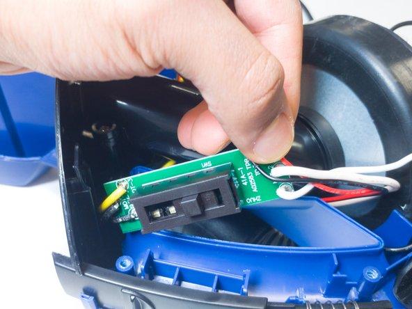 Eureka EasyClean 71C Motor Replacement
