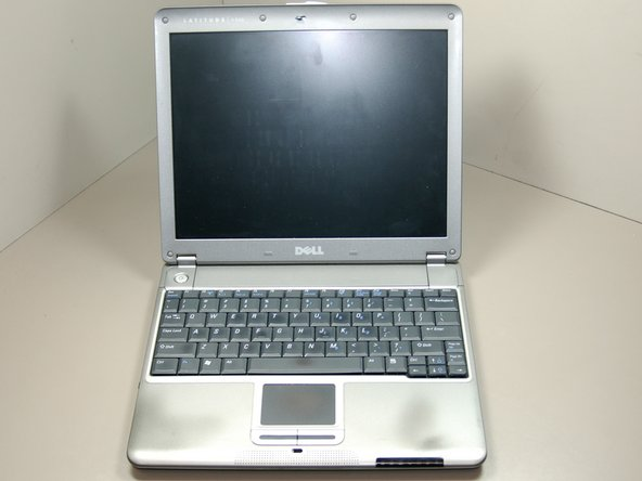 Dell Latitude X300 Palm Rest/Track Pad Replacement