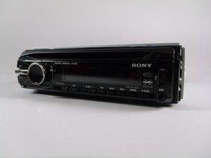 Sony CDX-GT540UI Troubleshooting