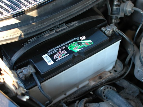 Mercedes W123 Battery Maintenance