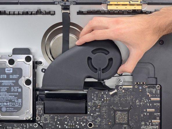 "iMac Intel 27"" EMC 2639 Fan Replacement"