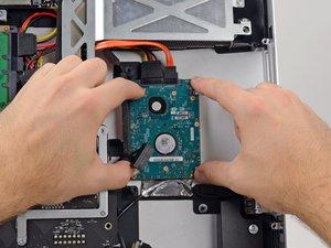 "Installing iMac Intel 27"" EMC 2390 Dual HDD or SSD Drive"