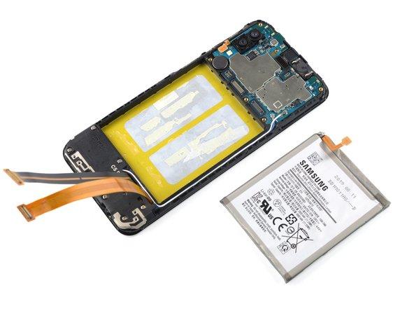 Remplacement de la batterie du Samsung Galaxy A20e