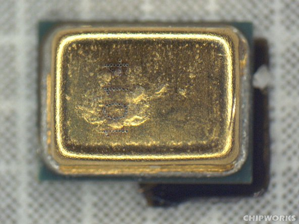 Infineon manufactures the 1014, the second microphone in the handset. The giant chip maker is a relatively new entrant into the MEMS market, which was dominated by startup companies until about a year ago.
