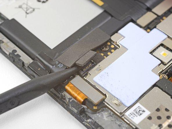 OnePlus 3のバッテリーの接続の外し方