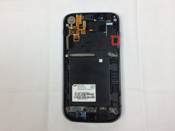 Samsung Galaxy S II T989 Volume Control Button Replacement