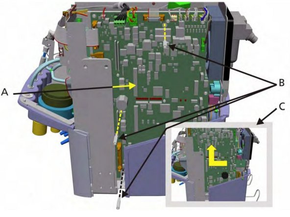 Hamilton G5 Ventilation Unit Motherboard Replacement