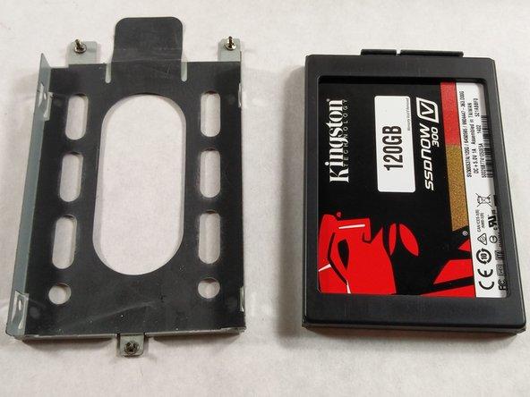 Dell Alienware M11x R3  Hard Drive Replacement