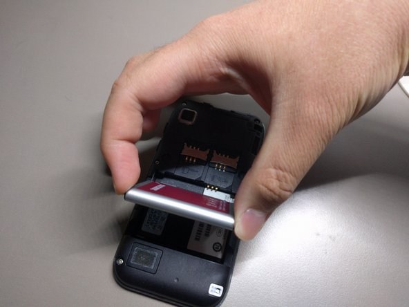 Samsung Galaxy S Pil Değişimi