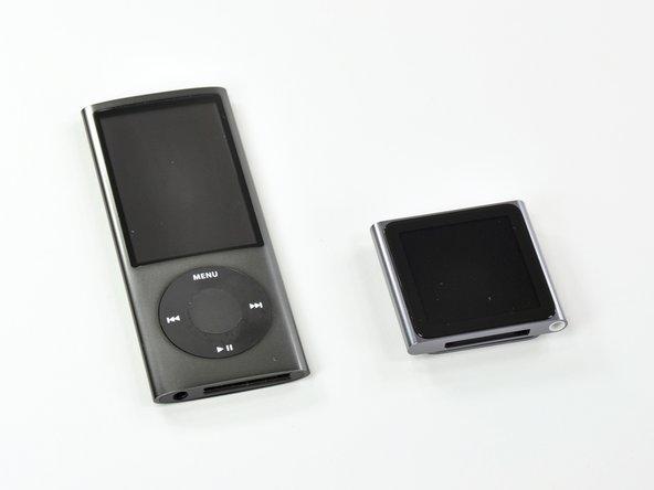 iPod Nano, meet iPod Nano.