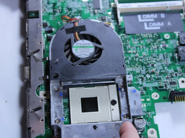 Dell Inspiron B130 Fan Replacement