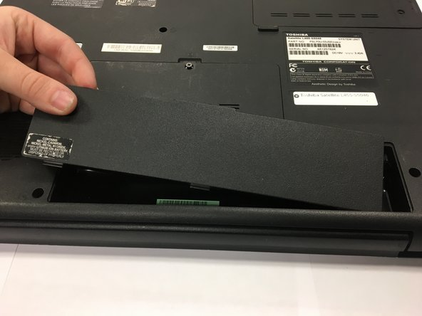 Toshiba Satellite L455-S5046 Battery Replacement