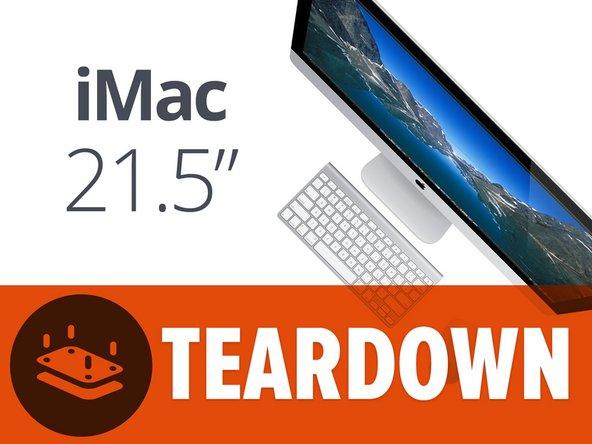 """Pur se gli manca uno schermo Retina, il nuovo iMac da 21,5"""" ha delle specifiche lodevoli:"""