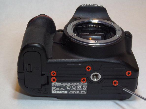 Nikon D3200 Motherboard Replacement