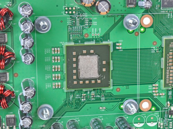This step is performed with the motherboard out of the chassis.