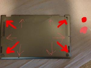 Asus zenbook flip UX562FA Disassembly