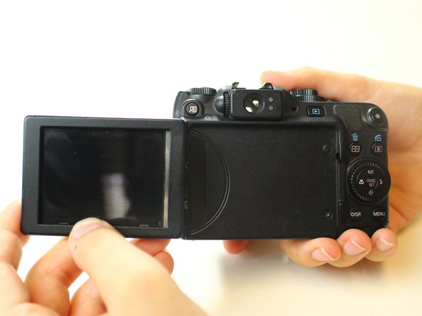 Canon PowerShot G12 LCD Screen Replacement