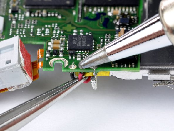 Next we will cover a moderately difficult soldering application.  In our case, we will be soldering very thin and delicate leads to a circuit board with small solder pads.