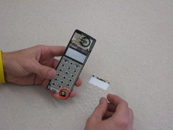 Disassembling Ericsson CF 388 Microphone