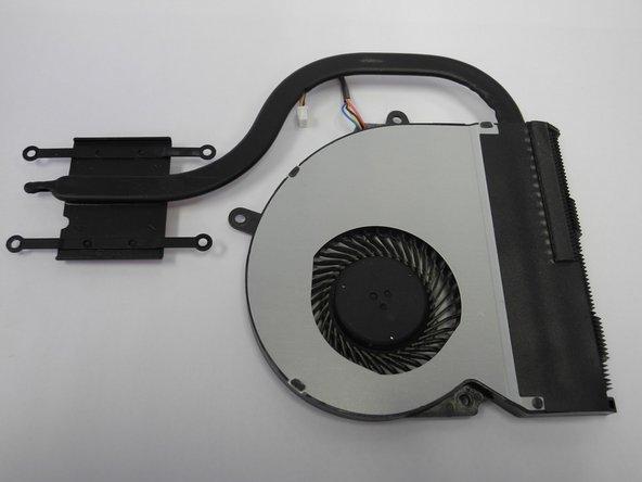 Asus X401A Internal Fan Replacement