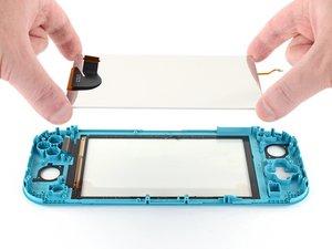 Remplacement de l'écran de la Nintendo Switch Lite