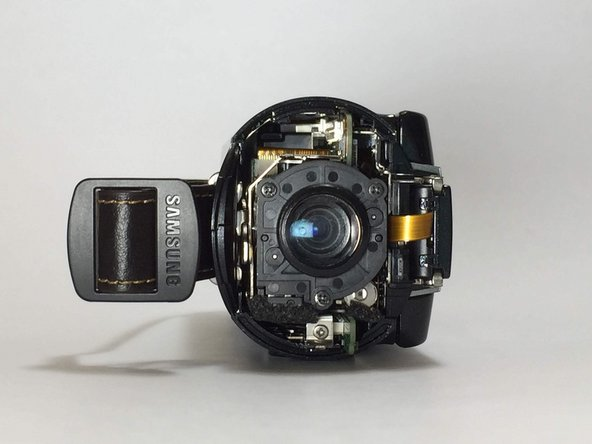 Samsung HMX-QF20 Lens Replacement