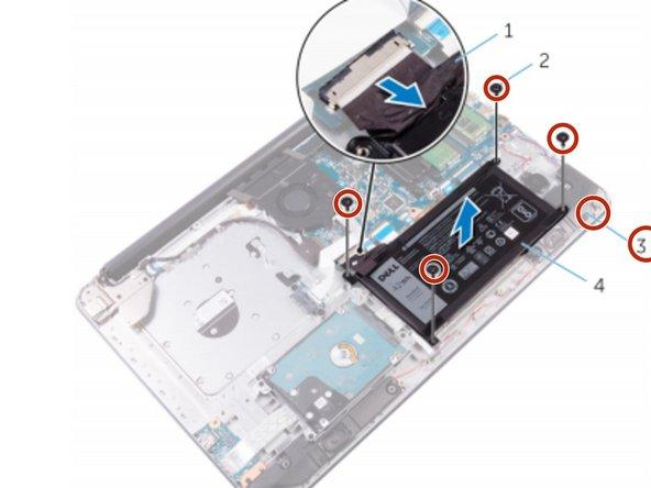 Dell Inspiron 17 5765 Reemplazo de batería
