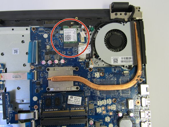 HP Notebook 15-ba018ds Wifi Chip Replacement
