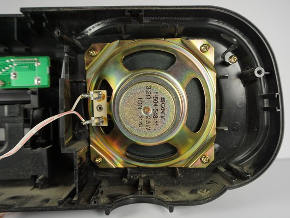 Sony CFD-8 Speaker Replacement