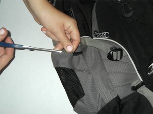 How to Fix the Side Pocket's Elastic on a Backpack