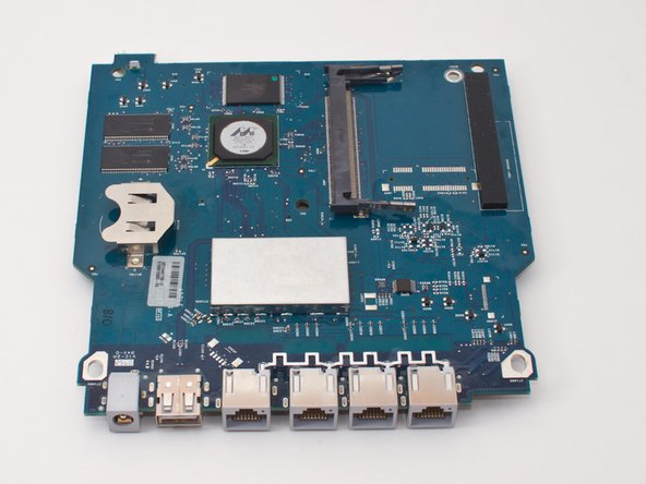 """This is the """"naked"""" logic board. You can order a new one and replace it by following the above steps in reverse order."""