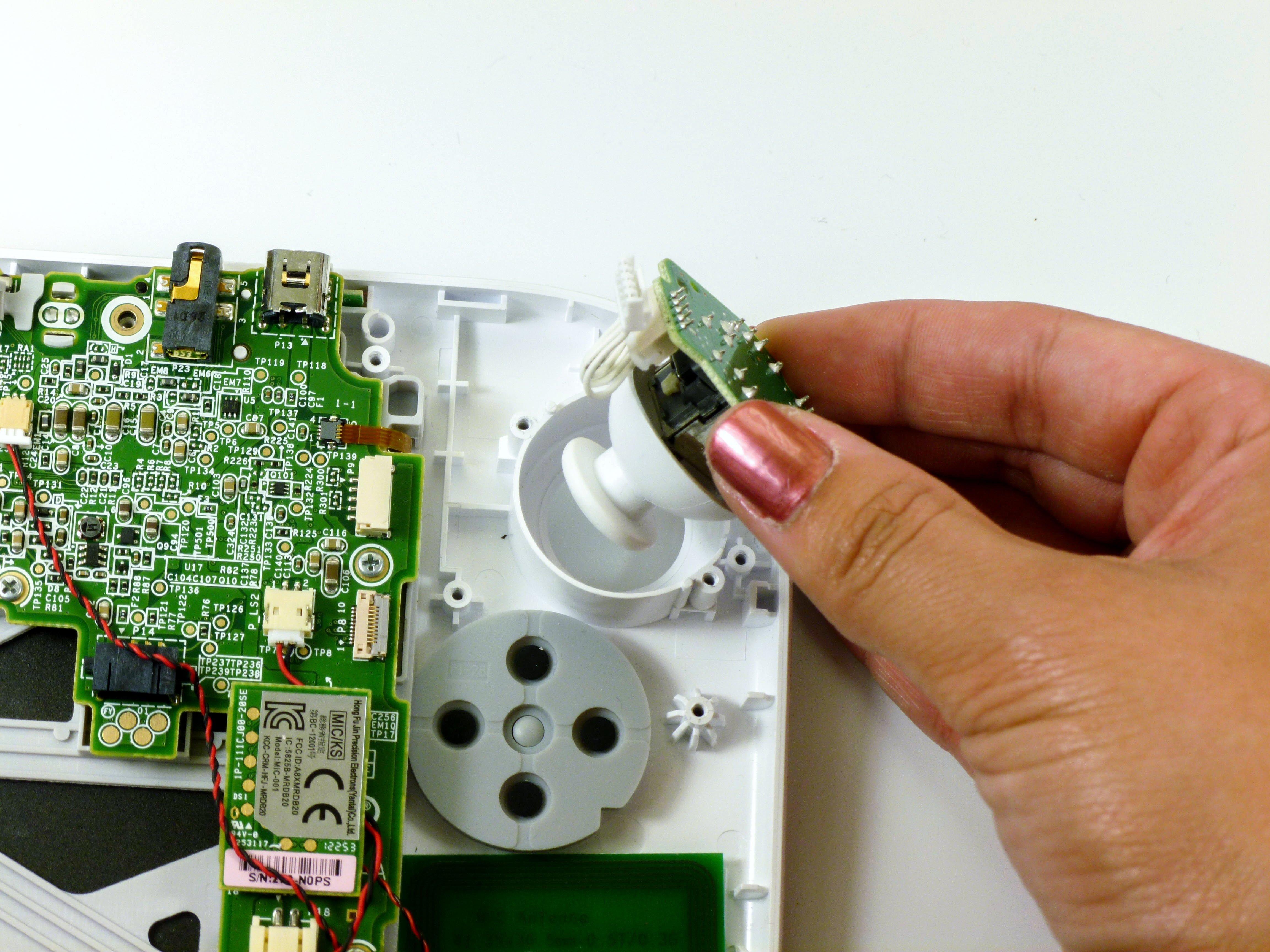 Remplacement du stick analogique du Wii U GamePad Nintendo