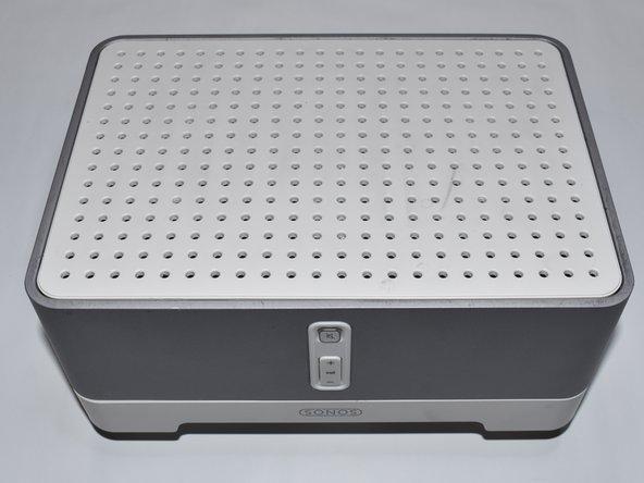 Mit dem SONOS ZP100 (ZonePlayer) ist es möglich, externe Lautsprecher für die Wiedergabe von Musik zu verwenden, die über WLAN oder Kabel zum Sonos ZP100 gestreamt wird.