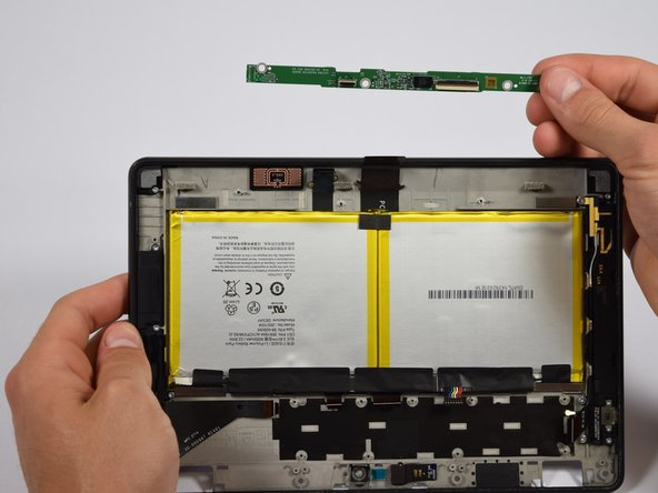 """Amazon Fire HDX 8.9"""" 4th Gen. Display Daughter Board Replacement"""