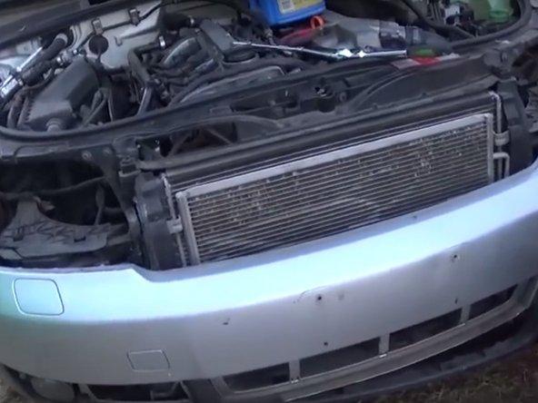2000-2006 Audi A4 (B6) A/C Condenser Replacement