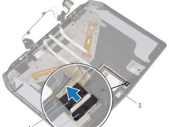 Dell Alienware 13 - Reemplazo de la Cámara