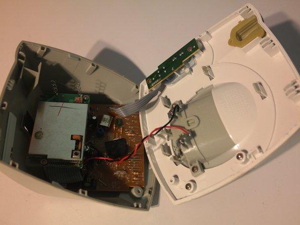 Remove 1 screw to remove the wireless module.