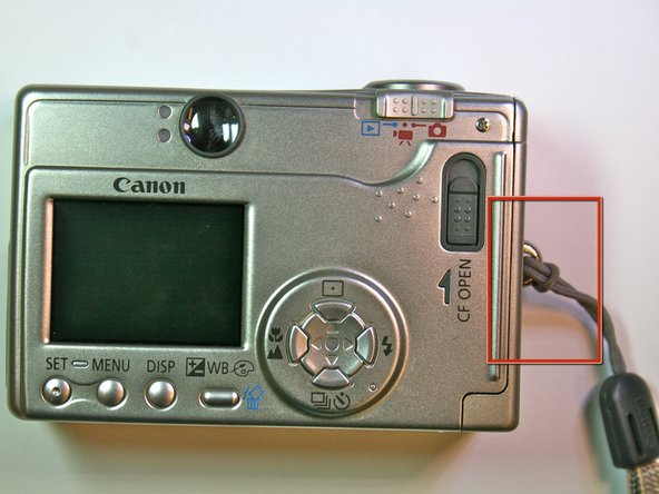 Canon Powershot S200 Motherboard Replacement